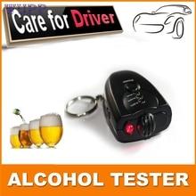 pretty Car Key Chain Alcohol Tester Digital Breathalyzer Alcohol Breath Analyze Tester at3