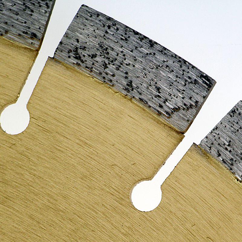 500mm * 50 * 16 * 3,3 Ypač tvirtas aštrių betoninių kelių - Ašmenys pjūklams - Nuotrauka 4