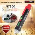 Hhabotest ht100 detector de tensão sem contato; ac/12 pencil 1000 v lápis de teste sem contato, electroscope