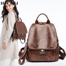 купить HFCCJJ MEW School Shoulder Bag Travel Backpack Female Backpack Women Leather Backpack For Teenager Girls Rucksacks mochila HC053 дешево