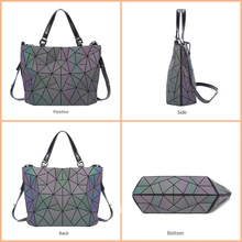 Geometry Diamond Tote Shoulder Bags