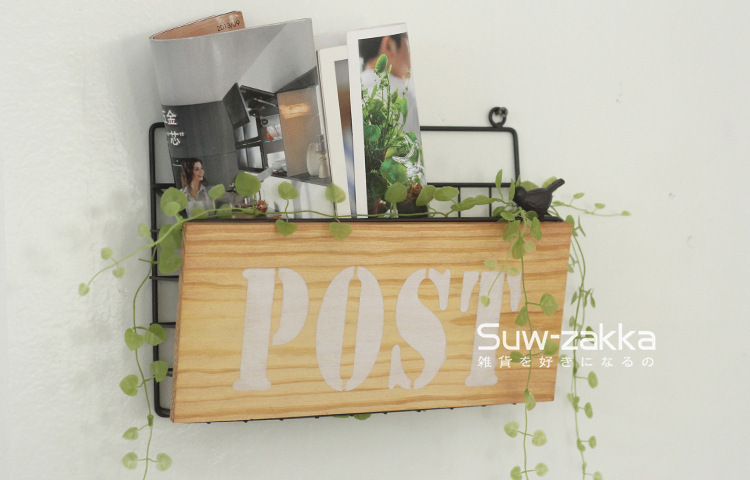 aliexpresscom buy zakka vintage wall mount home decoration mail box post box letter box newspaper box from reliable box secret suppliers on amroad