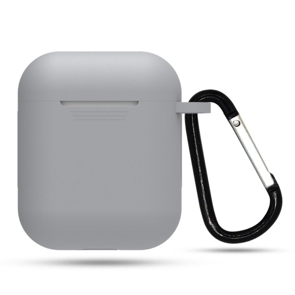 Мини Мягкий силиконовый чехол для Apple Airpods противоударный чехол для Apple гарнитура для Airpods чехол s Для Air стручки защитный чехол - Цвет: show as photo
