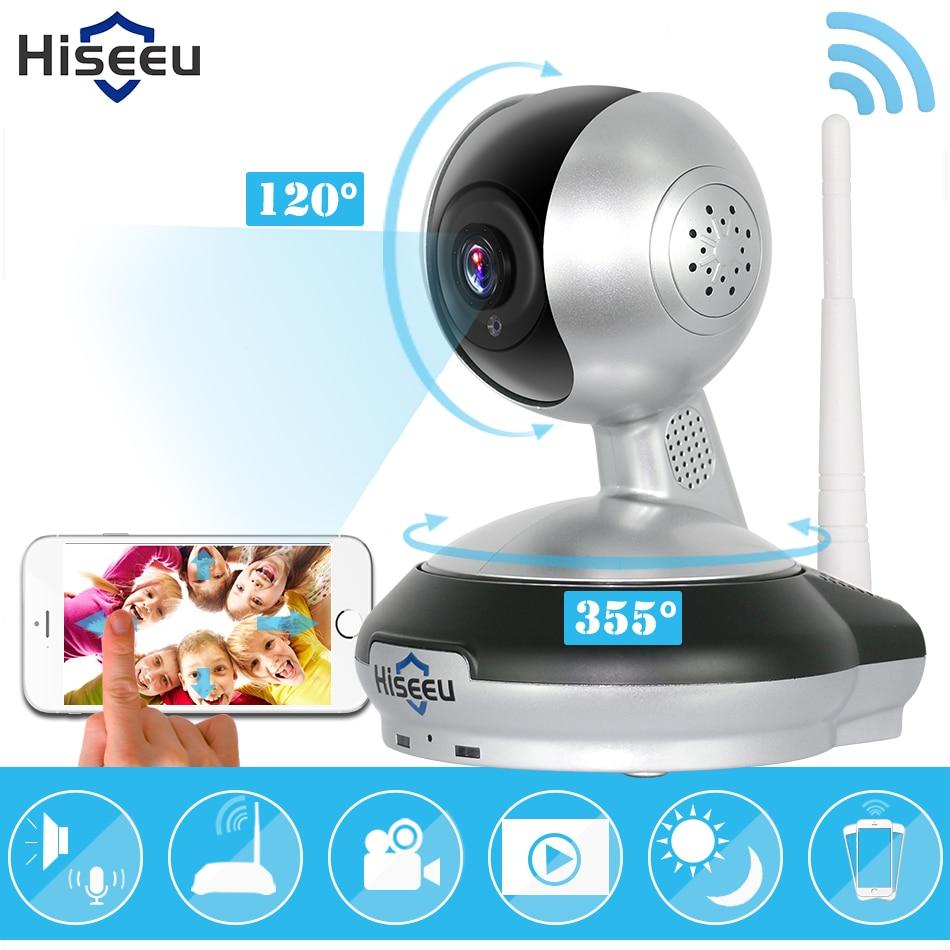 bilder für Hiseeu ip kamera wi-fi wireless security hd kamera wifi ip security-kamera babyphone klar zweiwege-audio stimme