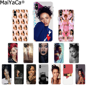 MaiYaCa Rihanna Anti Travail Drake DIY Luxury High-end Protector Case for iPhone 8 7 6 6S Plus 5 5S SE XR X XS MAX Coque Shell(China)
