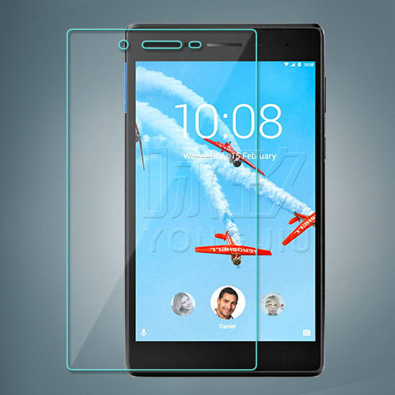 Tempered Glass Screen Protector CASE Film for <font><b>Lenovo</b></font> <font><b>Tab</b></font> <font><b>7</b></font> Essential <font><b>Tab</b></font> 4 <font><b>7</b></font> Essential <font><b>TB</b></font>-7304F <font><b>TB</b></font>-7304I Essential Glass image