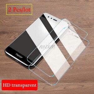 Image 5 - 2 шт./лот закаленное стекло для Huawei Honor 8 lite Pro 8C защита экрана полное покрытие стекло для Huawei Honor 8 lite защитная пленка