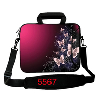 10 12 13 14 15 17 4 Butterfly Laptop Shoulder Bag Tablet Sleeve Notebook Carrying PC