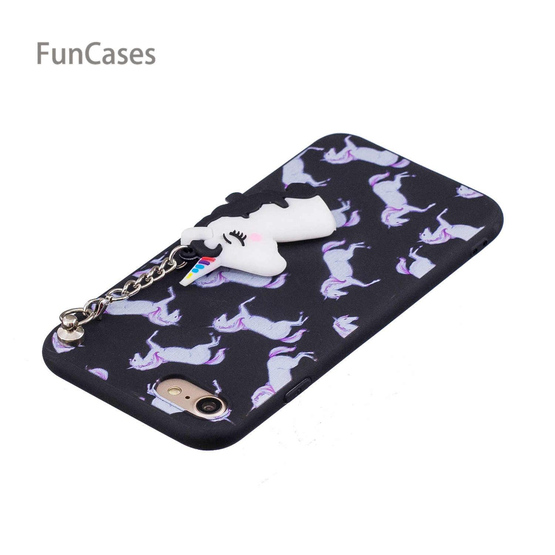 ... Cute Unicorn Phone Case sFor Etui iPhone 7 Soft Silicone Phone Case Ajax  Marble Telefon Aksesuar ... 4fa7c4a087a21