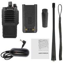 BaoFeng 9700 влагонепроницаемые Walkie Talkie PTT профессиональный 5 W UHF IP67 CB сканер двухстороннее приемопередатчик ФИО Comunicador для наружного