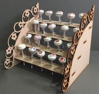 Lollypop SWEET CANDY CART Trolley Holder Table Display Stand Party