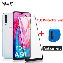 Tempered Glass For Samsung A50 Cmera lens Protective film For Samsung Galaxy A50 2019 A 50 50A 6.4INCH Glass Film A505F glas наушники crown cmera 766 cm000000845 cmera 766