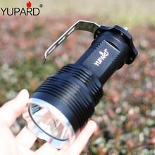 цена на YUPARD XM-L2  T6 LED yellow white light camping Flashlight Torch long illumination Spotlight Searchlight outdoor fishing lamp