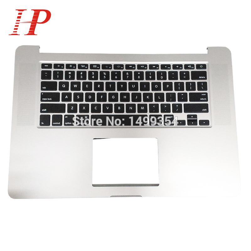 Original New Early 2015 Year For Apple Macbook Pro 15'' Retina A1398 Palm Rest Topcase With Keyboard US UK Version original 2013 2014 year a1502 topcase with keyboard for apple macbook pro 13 retina a1502 palm rest with keyboard us spain uk