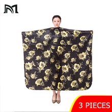 3 pieces Hairdresser Capes Professional Cutting Hair Waterproof Cloth Salon Barber Gown Cape  Hairdresser Cape for Adult