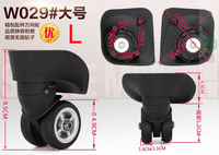 Trolley Case Luggage Wheel Repair Universal Travel Suitcase Parts Accessories Luggage Wheel Replacement Wheels W029L