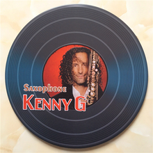 30CM Round Famous People Retro Plaque Metal Plates Nostalgia Signs Gift