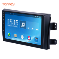 Harfey 9 inch Android 6.0 Car GPS Navigation Radio Multimedia Player for 2006 2012 Suzuki SX4 with Quad Core RAM 1GB ROM 16GB