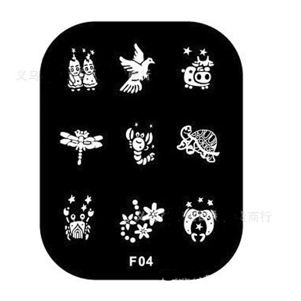 Hotsale shany nail art nagel tattoo image stamp plates schablonen hotsale shany nail art nagel tattoo image stamp plates schablonen polish stamping set manicure motive diy choose in nail art templates from beauty health prinsesfo Image collections