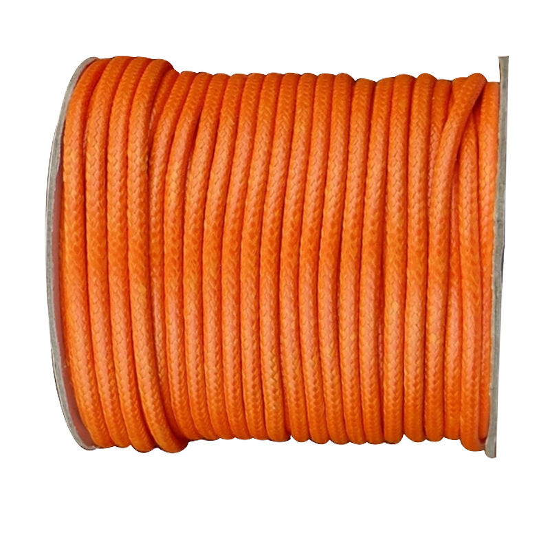 3.5mm Orange White Korea Polyester Wax Cord Waxed Rope Thread+50yards/roll Jewelry Findings Bracelet Necklace String Accessories
