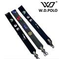 W.D.POLO high chic brand design lady handbag strap easy matching color patchwork women shoulder bag belts hot selling M2653