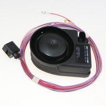 VW Original Electronic Alarm Horn Siren With Cable For VW Jetta mk5 Golf 5 Passat B6 B7 CC Tiguan Polo Skoda 1K0 951 605 C