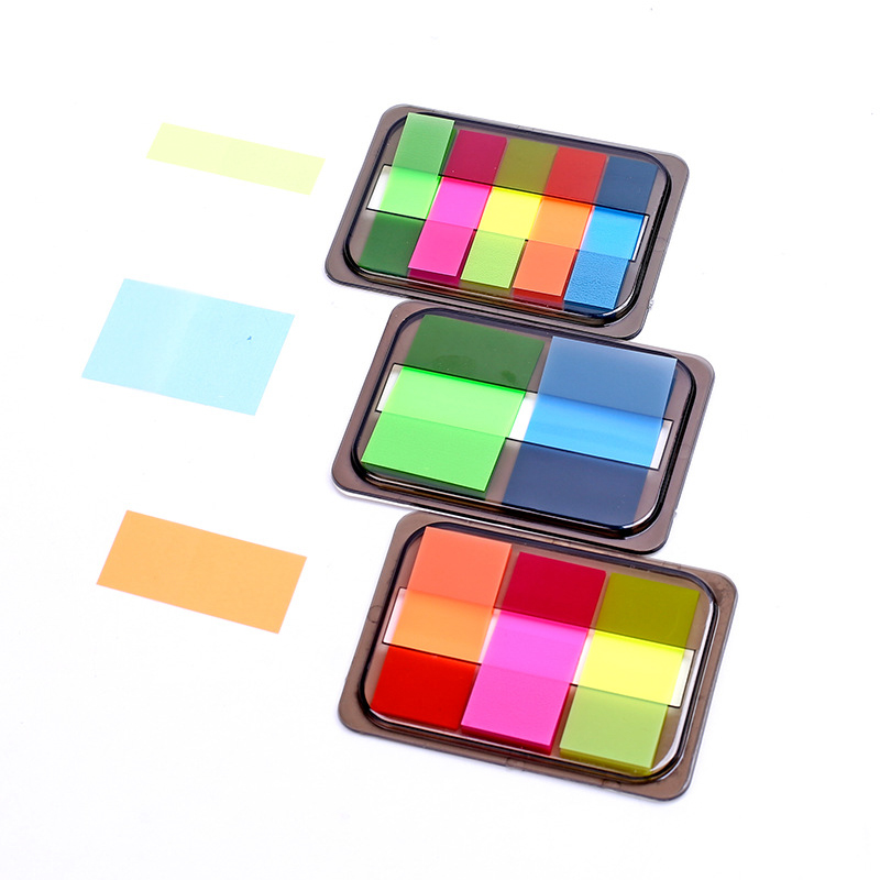 FGHGF1 X Gradient Color Index memo pad paper sticky notes planner sticker post it kawaii stationery papeleria school supplies