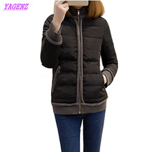 Plus size XL-5XL Winter Down Cotton Jacket Women Short Cotton Outerwear Young women Fashion Loose High quality Warm Overcoat 257