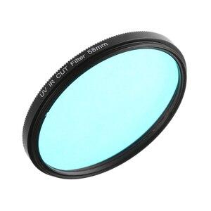 Image 4 - FOTGA אופטי זכוכית UV IR לחתוך מסנן 52mm 58mm לעבור אינפרא אדום X ray IR UV מסנן עבור DSLR ניקון Canon מצלמה