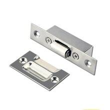 FGHGF нержавеющая сталь Магнитная Серебряная дверь стоп литье Мощный мини дверной стопор держатель для спальни дома