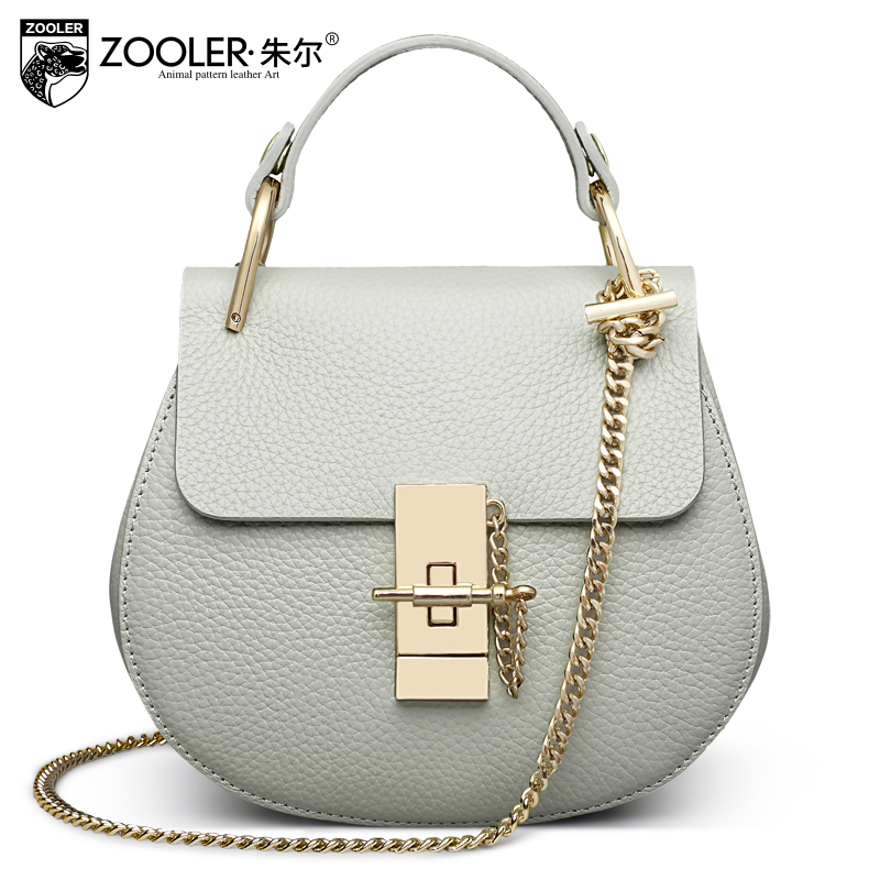 ФОТО New shoulder Bags type women famous brands 2016 European American style ladies  Small round woman  shoulder bag ZOOLER ZF-1900