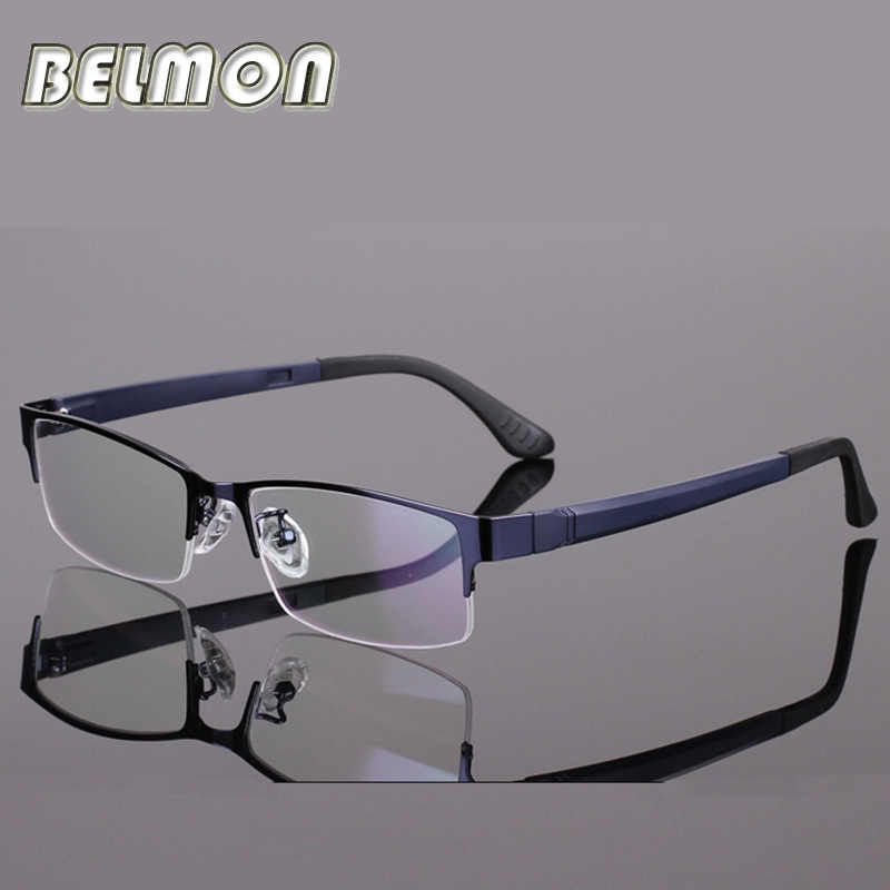 BELMON Spectacle Frame Eyeglasses Men Computer Optical Eye Glasses For Male Transparent Clear Lens Armacao 0 de grau RS301