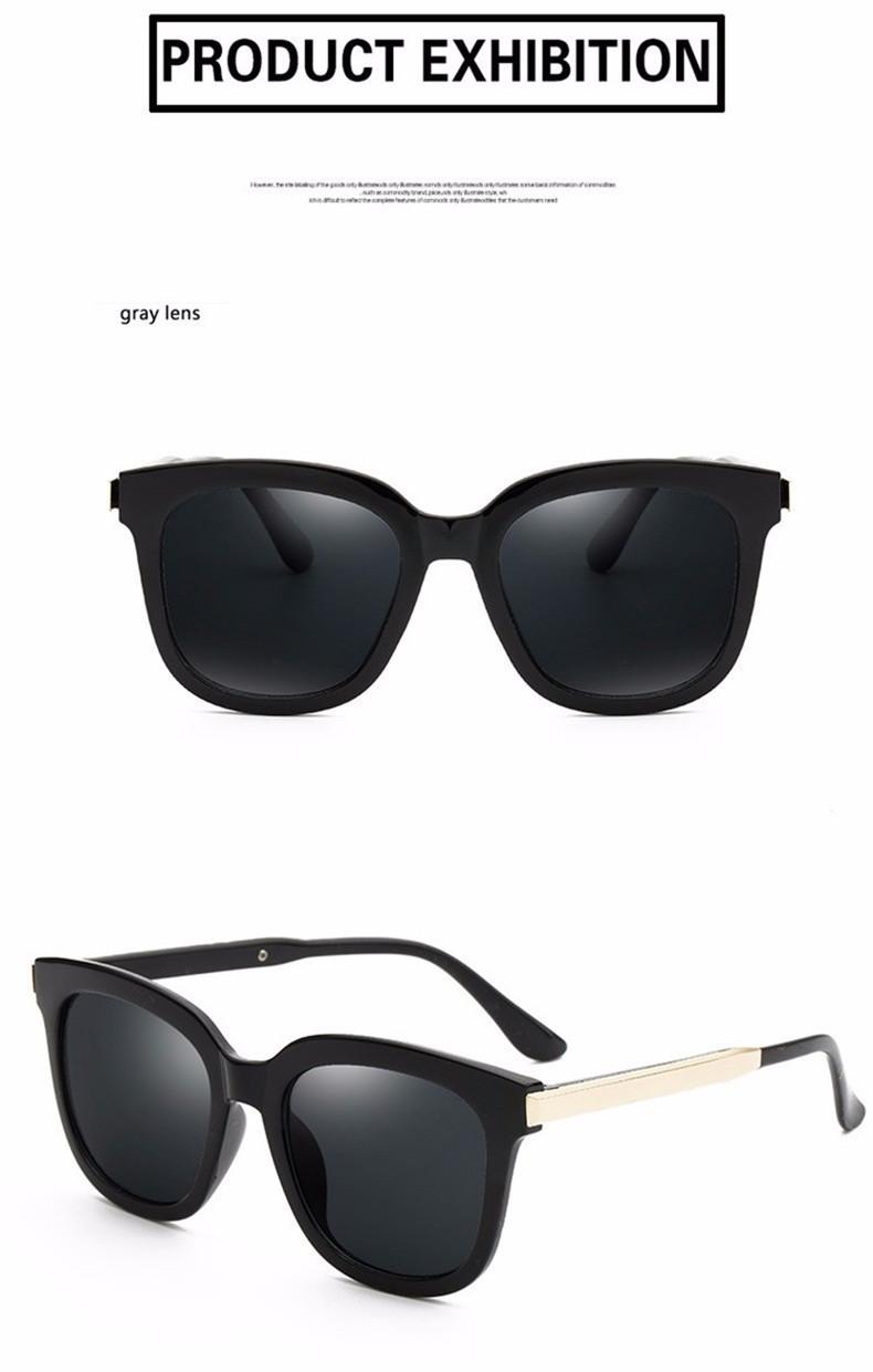 High Quality Couple Square Sunglasses Women Brand Designer Vintage Retro sun glasses for women Men Sunglass Mirror Lunette Femme (9)