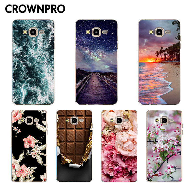 CROWNPRO For <font><b>Samsung</b></font> <font><b>Galaxy</b></font> <font><b>Grand</b></font> <font><b>Prime</b></font> <font><b>Case</b></font> G530 <font><b>G530H</b></font> G531 G531H G531F <font><b>Case</b></font> Soft Silicon TPU Cover For <font><b>Grand</b></font> <font><b>Prime</b></font> <font><b>Cases</b></font> image