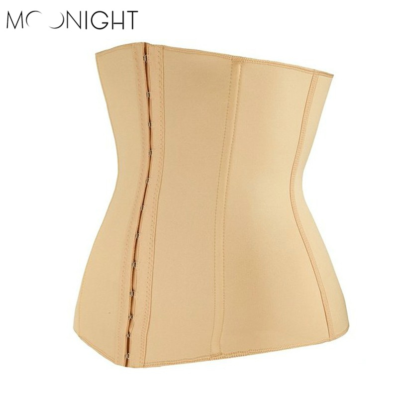 MOONIGHT Waist <font><b>Shaper</b></font> Corset Waist Trainer Women Corset Slim Belt Modeling Strap Waist Cincher <font><b>Hot</b></font> <font><b>Shapers</b></font> Slimming Shapewear
