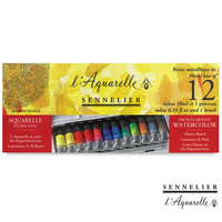 Sennelier Top Honey Series Watercolor Pigment Pure Honey Watercolor Light Does Not Fade Professional for artist 12color