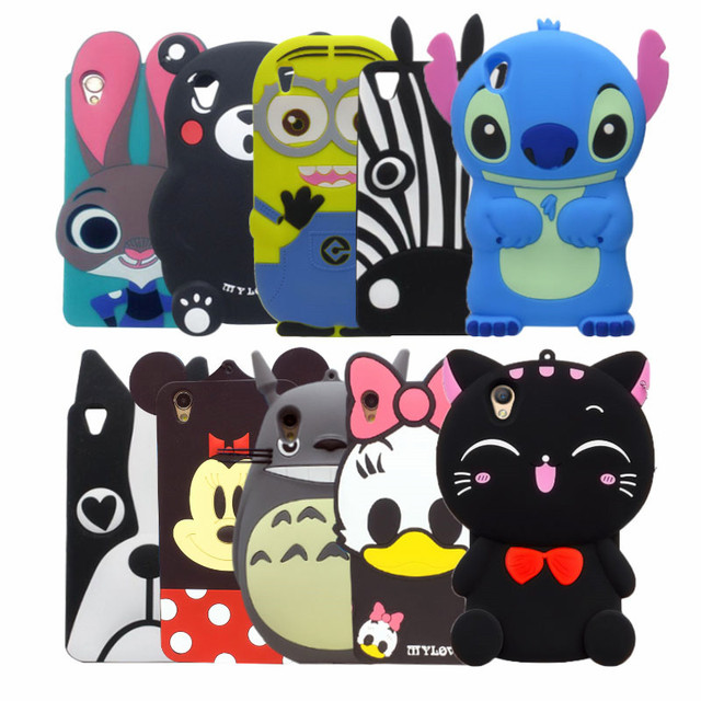 cheap for discount 674e3 6a144 US $3.79  For OPPO A37 Case 5.0' 3D Cartoon Minnie Stitch Cat bear dog Soft  Silicone Case For OPPO A37 Back Cover OPPO A37M capa coque-in Fitted Cases  ...