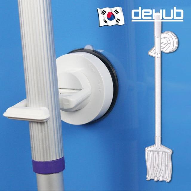 Nice DEHUB Marke Leistungsstarke Vakuum Saugnapf Haken Besen Mopp Kleiderbügel  Haken Wasserdicht Küche Badezimmer Tür Wand Sucker