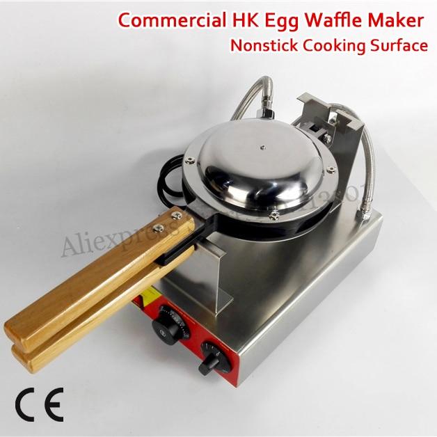 220V 110V Nonstick Hong Kong Egg Waffle Machine Electric Eggette Waffle Maker Popular Snack Commercial Use and Home Use nonstick electric egg waffle maker eggette puff machine stainless steel 220v 110v popular snack dessert