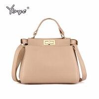 YBYT бренд 2018 новые модные женские сумки известный дизайнер пакет Женские сумки через плечо женские сумки через плечо