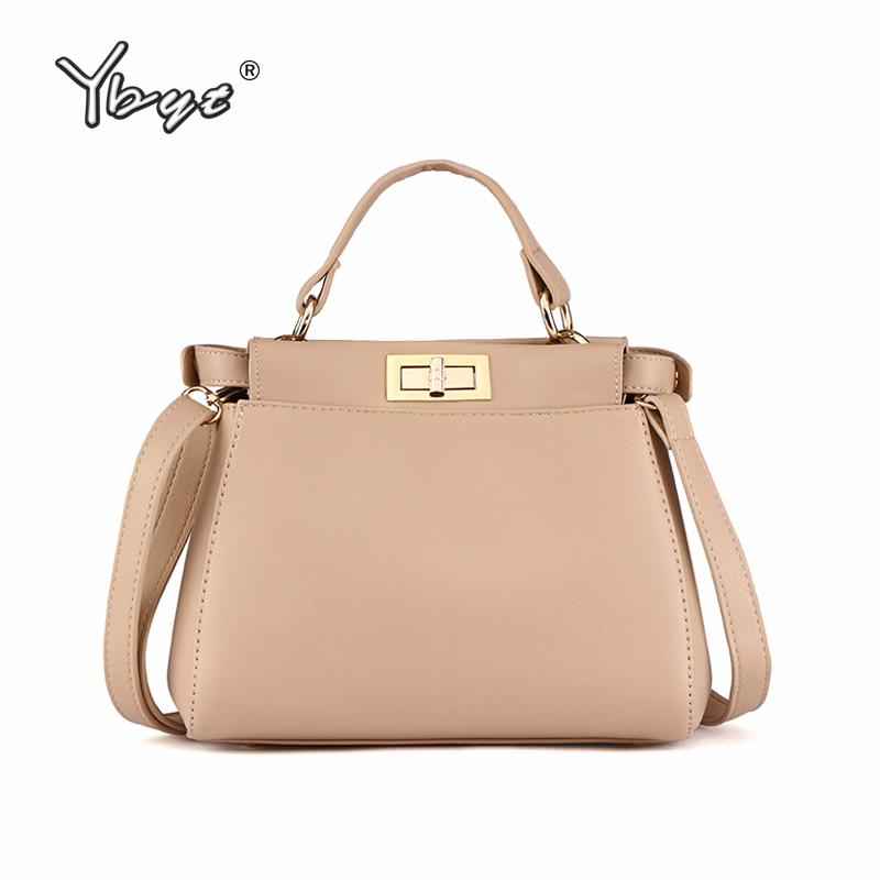 YBYT brand 2018 new fashion women satchels famous designer package female handbags shoulde