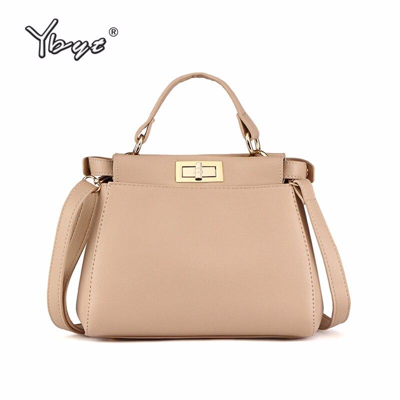 3fe74ba1d Cheap YBYT marca 2018 nueva moda mujer bolsos famoso diseñador paquete mujer  bolsos de hombro bolso