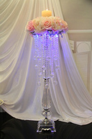 high grade acrylic beads wedding flower holder cake stand celebration party bar decoration/ home table decoration