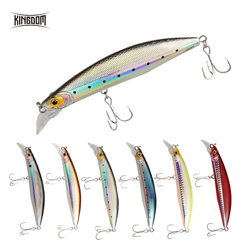 XTS Floating Minnow Fishing Hard Lure 100mm 120mm Artificial Floating Hard Jerkbait Fishing Tackle 0-2m Plastic Fishing Lure5501