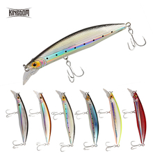 XTS Floating Minnow Fishing Hard Lure 100mm 120mm Artificial Jerkbait Tackle 0-2m Plastic Lure5501