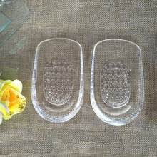 Invesible Transparent Silicone Gel 1 Pair Shoes Cushion Inso