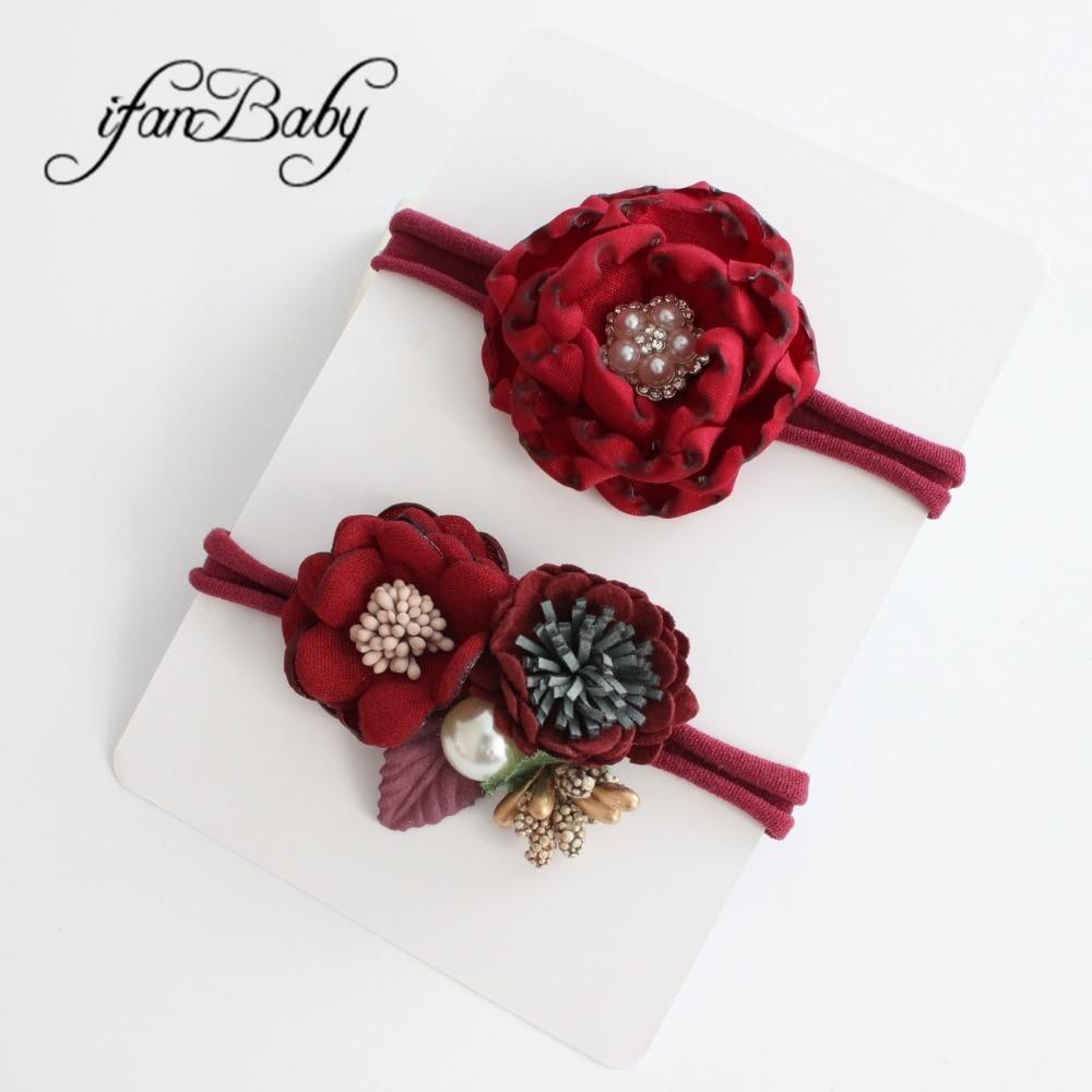 kids girl nylon flower headband (28)