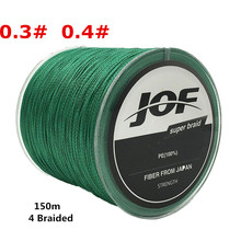 New 0 3 0 4 150M 4 Stands 100 PE Available Braided Fishing Line 8L 10L
