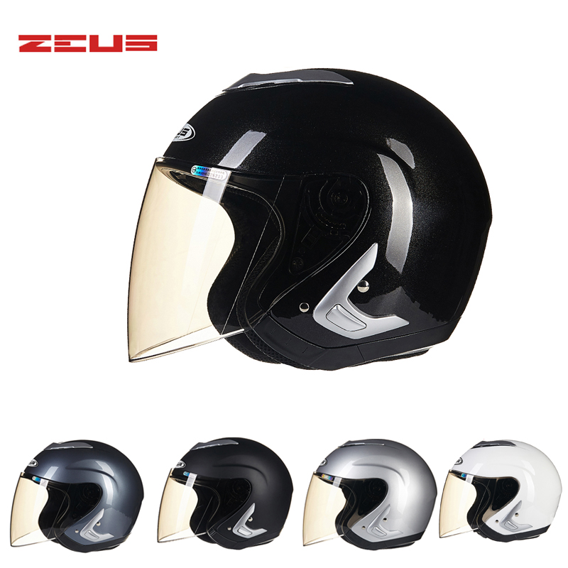 Four seasons ZEUS 607B motocross motorcycle helmet open face motorbike helmets scooter bike