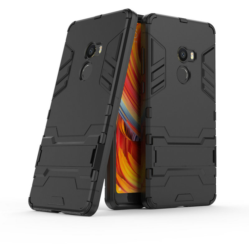 WTERSS 3D Luxury Combo Armor Case for <font><b>Xiaomi</b></font> <font><b>Mi</b></font> <font><b>Mix</b></font> <font><b>2</b></font> Mix2 Evo 64GB <font><b>128GB</b></font> 256GB Shockproof Back cover Case shell with Stand image